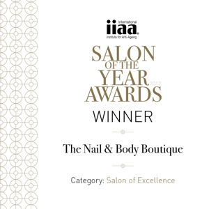 The Nail and Body Boutique in Reigate won the Salon of the Year, Salon of Excellence award from IIAA!