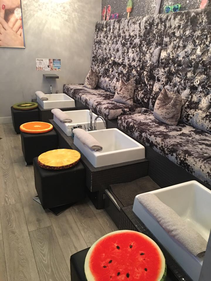 fruity pedicures at The Nail & Body Boutique