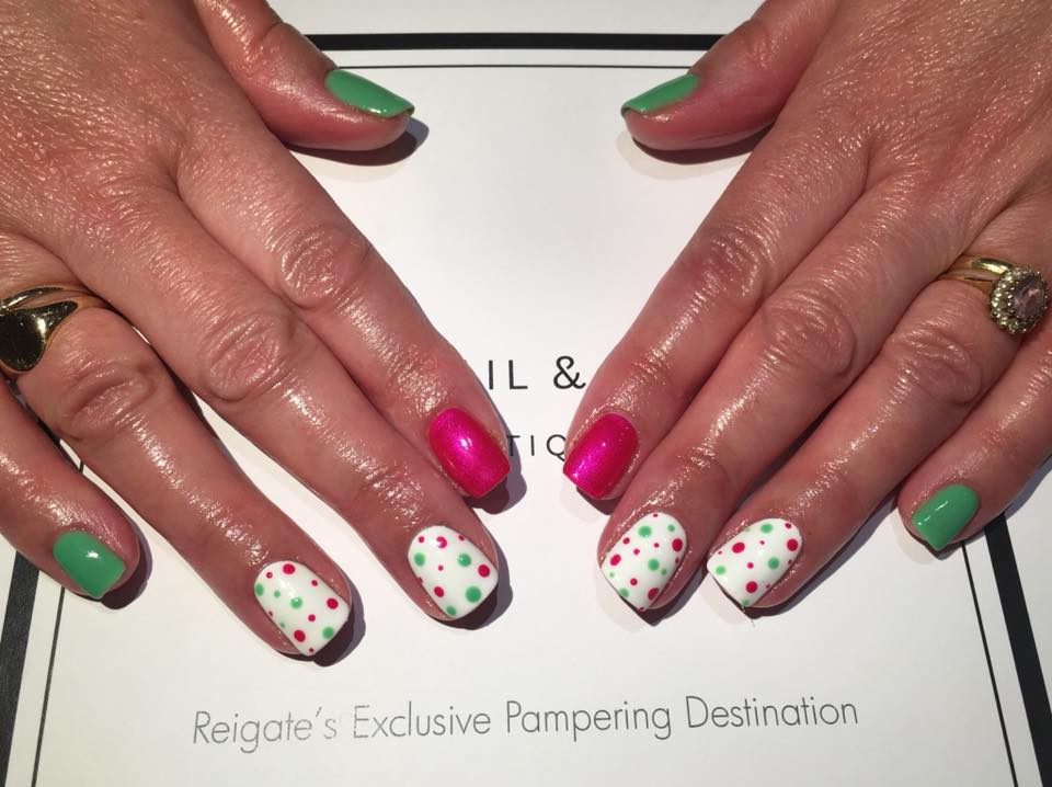 find your surrey spa party at the nail & body boutique for fabulous nail art